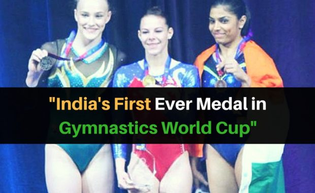 Aruna Reddy wins first ever medal for India in Gymnastics World Cup