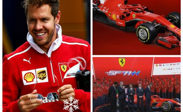 """Sebastian Vettel : """"We've worked very hard & confident the car will be good to drive"""""""