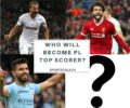 Who Will Finish Premier League top scorer : Kane, Salah, Agüero or Some One Else