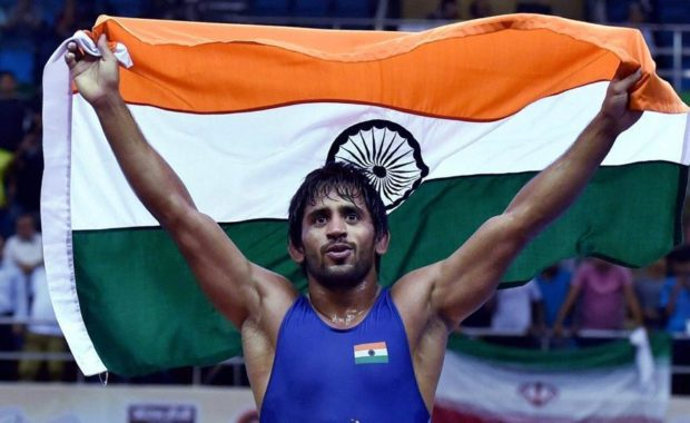 CWG 2018: Bajrang Punia grabs Gold; Pooja & Mausam settles for silver