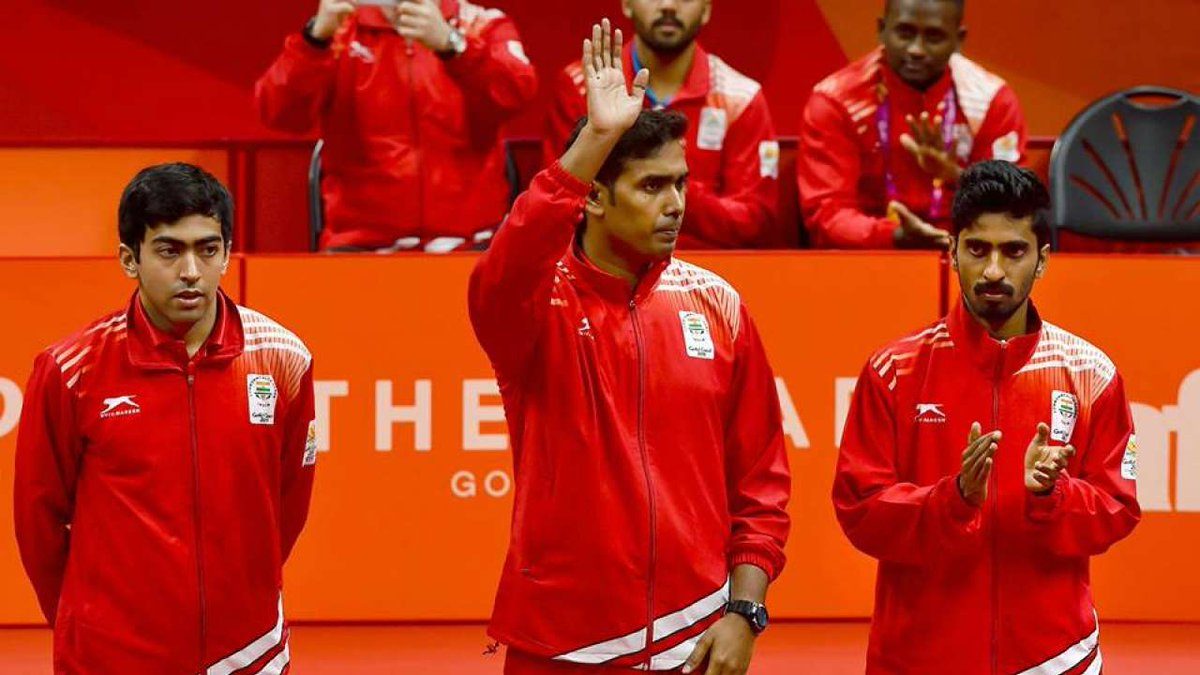Indian Men's table tennis team CWG 2018