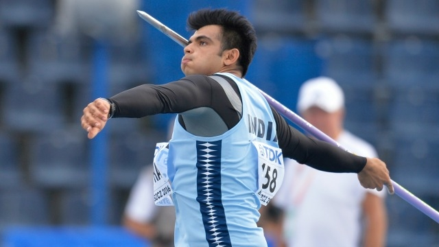 Neeraj Chopra Asian Grand Prix