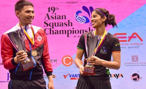 Joshna Chinappa wins the Asian Squash Championship, end the drought of 36 years
