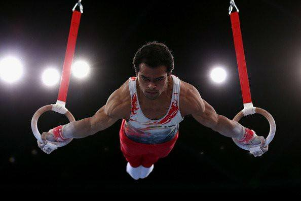 Rakesh Patra World Gymnastics World Cup