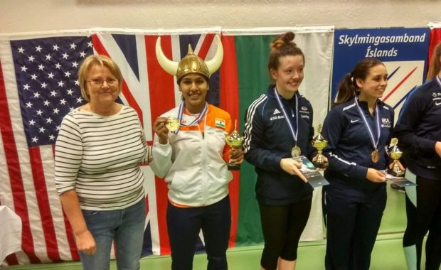 """Fencing : """"Bhavani Devi"""" becomes first ever Indian women to win International Fencing Event"""