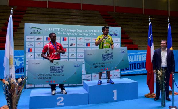 "ITTF Challenge Chile Open : India bags both ""Men's Singles"" & ""Men's Doubles"" Title"