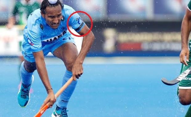 Why the Indian Cricket Team didn't wear armbands while Hockey Team did