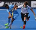 Indian Hockey Team went down to Germany by 0-2