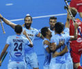 HWL Semi-final : India starts their campaign with a dominating win against Scotland