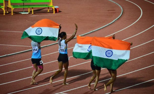 India Scripts History at Asian Athletics Champ, finish historical first in Medal Tally with 29 medals