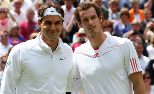 "Roger Federer's ""Special Message"" to Andy Murray"