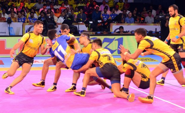 Puneri Paltan and Telugu Titans Start Their Pro Kabbadi companion With Big win