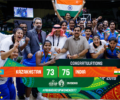 India Becomes Asian Basketball Div.-B Champion, qualifies for Div- A of Asia Cup 2018