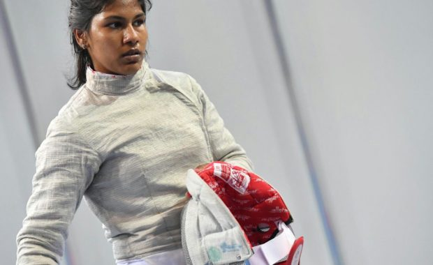 "Indian Star fencer Bhavani Devi ""fairy tale"" continues, becomes World no. 36"