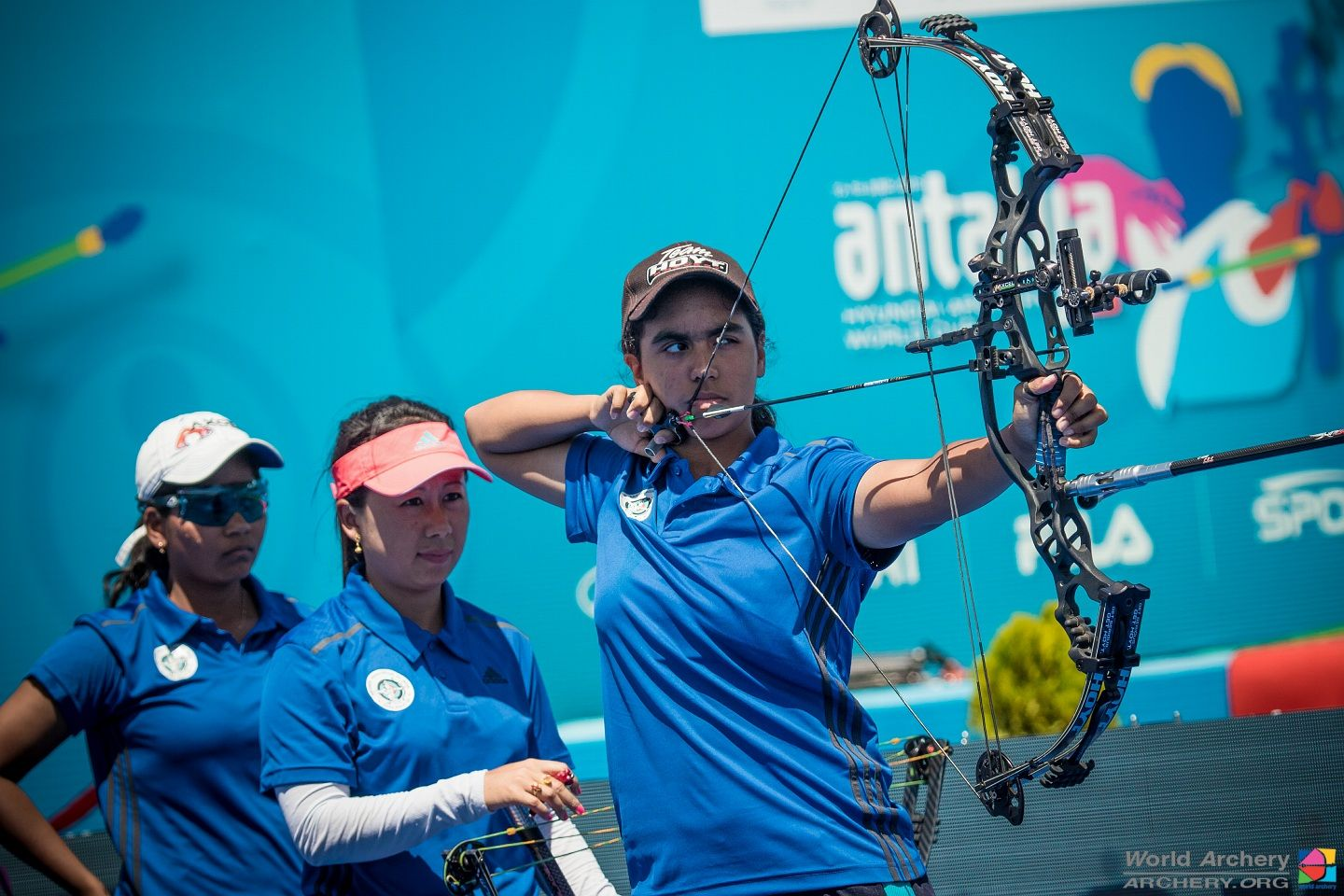 "Asia Archery Cup : Lucky Women Compound Team marches into finals,  Divya Dhayal to go for ""Triple Gold"""