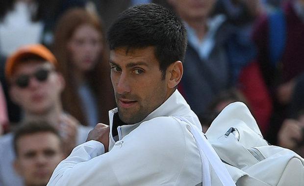 Novak Djokovic drops to fifth in latest ATP rankings