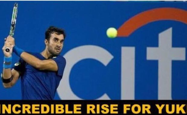 Huge Rise for Yuki Bhambri in ATP Rankings, becomes India's no.1 Singles Player
