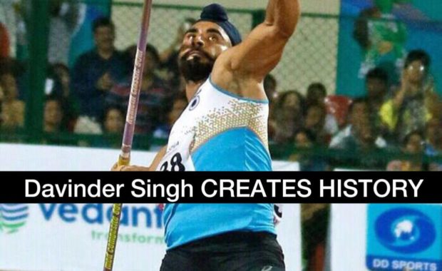 Indian Javelin STAR Davinder Singh CREATES HISTORY at World Athletics Championship