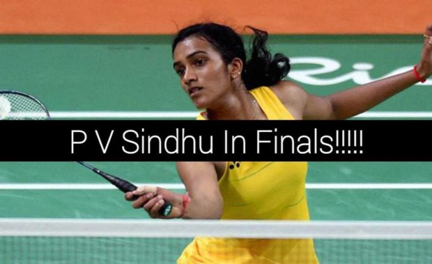 "P.V. Sindhu one step away from creating ""History"" & becoming ""World Champion"""
