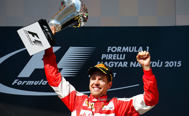 Confirmed : New contract for Sebestian Vettel with Ferrari