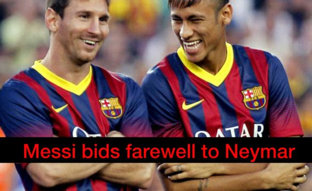 Lionel Messi confirms Neymar's Barcelona exit Post A beautiful Video For him