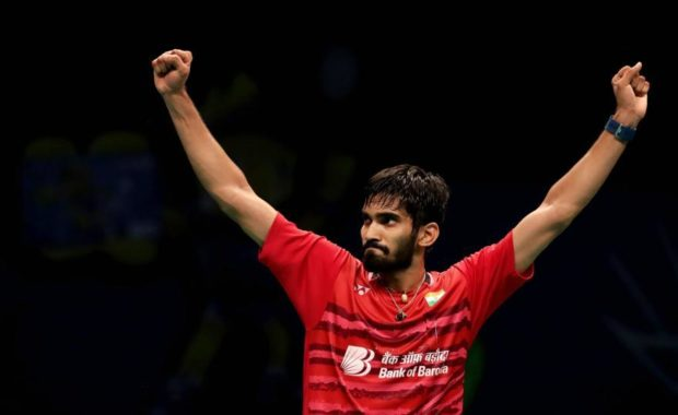 """Twitter reacted as kidambi becomes first Indian player to make a hat-trick of """"Super Series Final"""""""