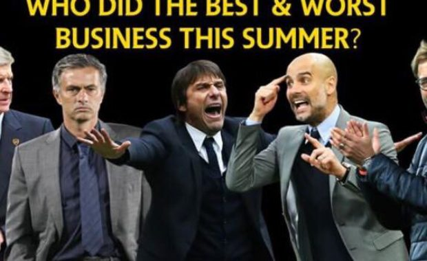 Transfer Window Overview : Money Spent, Received, Winners and Losers from Premier League's Top 6