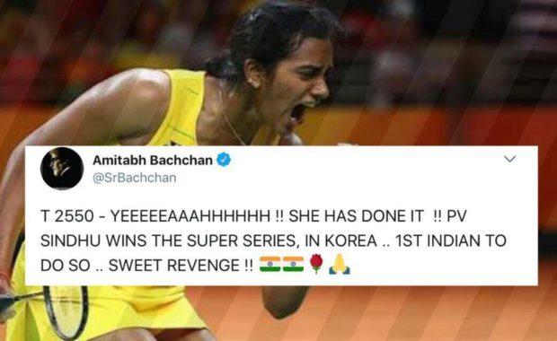 Twitter celebrates Sindhu's revenge as she creates History by becoming Korea Open Champion