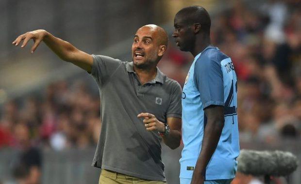 Man City manager Pep Guardiola speaks on Yaya Toure issue