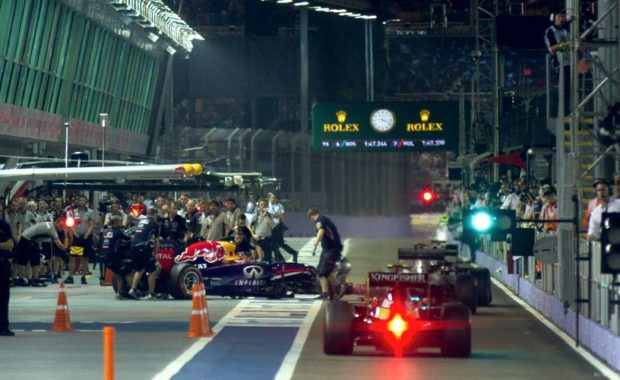 Changes at Marina Bay Circuit ahead of this year Singapore Grand Prix