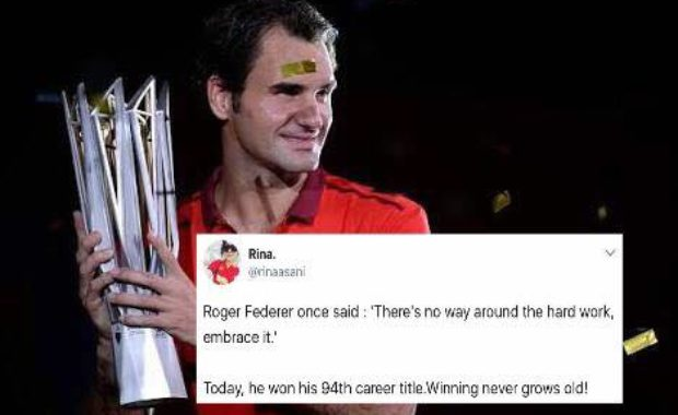 Twitter overjoys as Roger Federer clinch Shanghai Masters Title by defeating Rafael Nadal