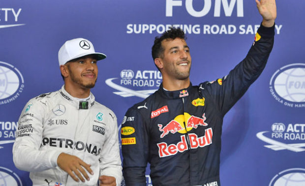 Lewis Hamilton's claims about Daniel Ricciardo's title hopes