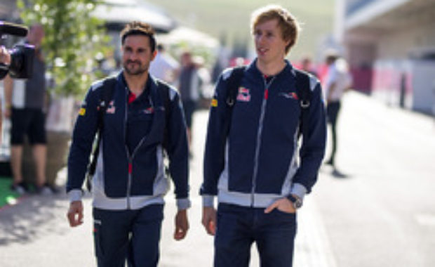Daniel Ricciardo speaks about his friend Hartley's Grand Prix debut for Toro Rosso