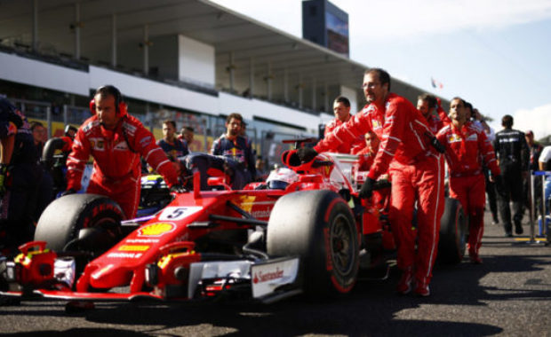 Ferrari acts on quality control issues with key signing