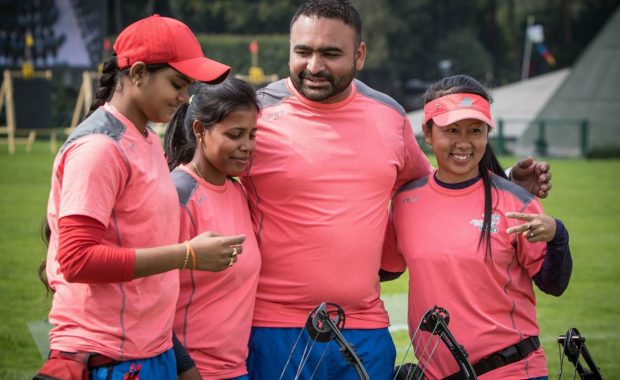 Women Compound Team Enter Final OF World Championship