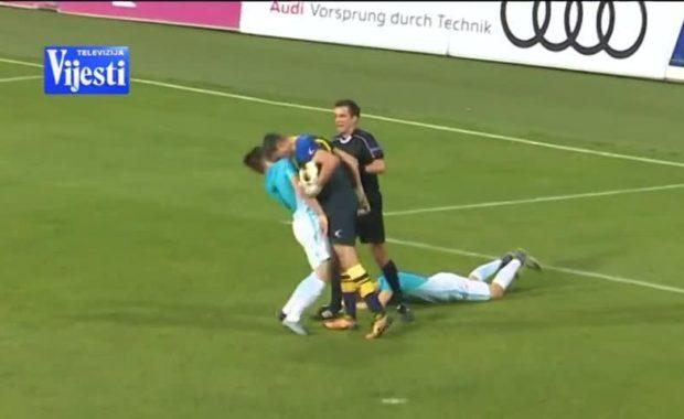 Man City Goalkeeper faces long International ban after headbutting opponent