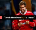 Sebastian Vettel admits Mercedes was faster than his Ferrari