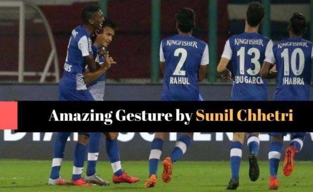 Sunil Chhetri refuses to celebrate after goal against former club Mumbai City FC
