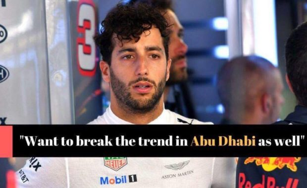 Daniel Ricciardo confident of historical first at Abu Dhabi
