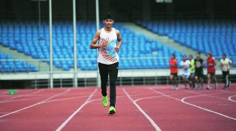 Beant Singh 800 metre running