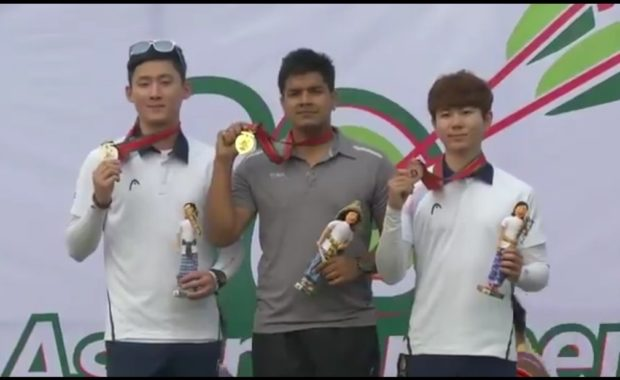 Abhishek Verma wins gold at Asian Archery Championships , Jyothi Won  bronze