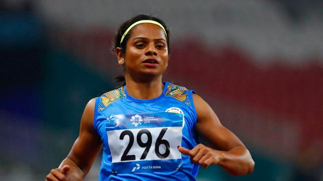 Dutee Chand 200 metre Japan 2020