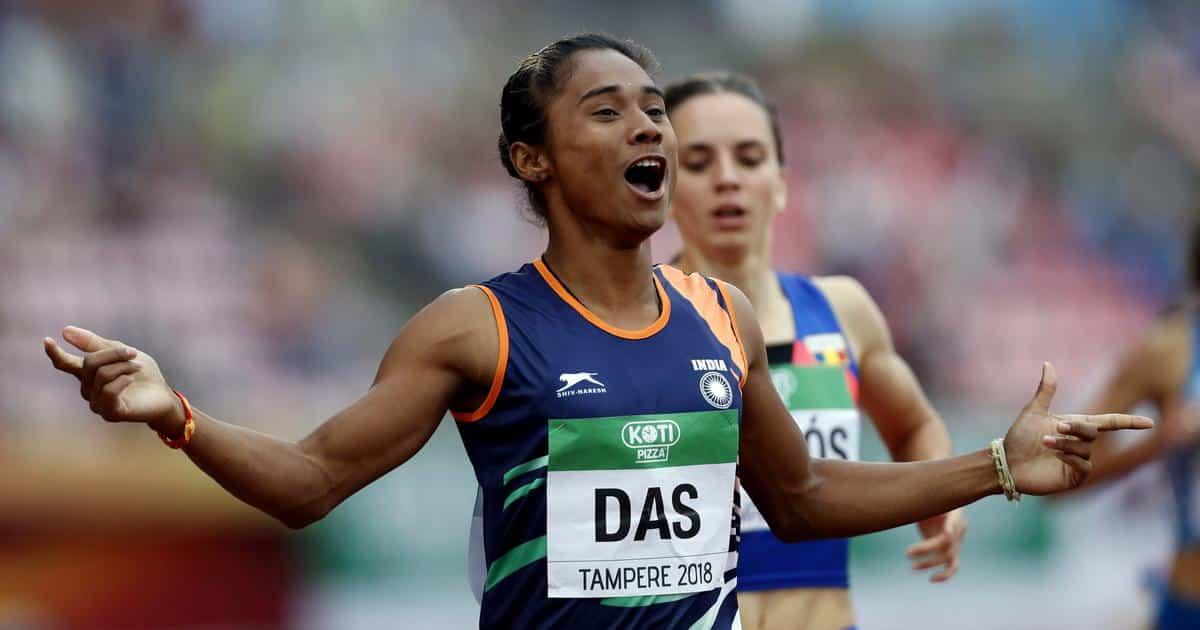 Hima Das Japan Olympics 400m