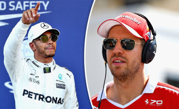 Lewis Hamilton's battle with Vettel  , Kimi Raikkonen, Verstappen and Alonso  – applying pressure & 'red-mist moments'