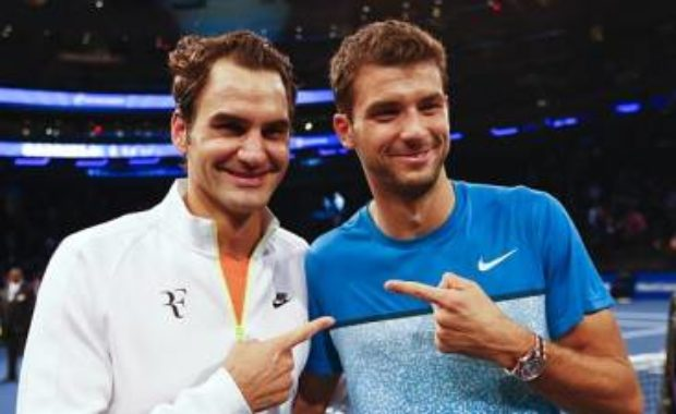 Dimitrov explains why following Roger Federer's footsteps would never work for him