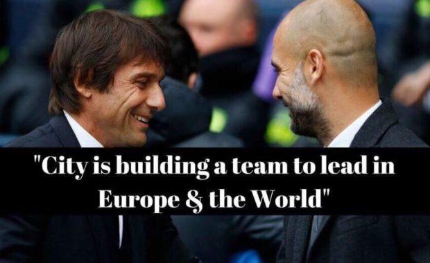 Chelsea manager Antonio Conte speaks about Man City's winning streak