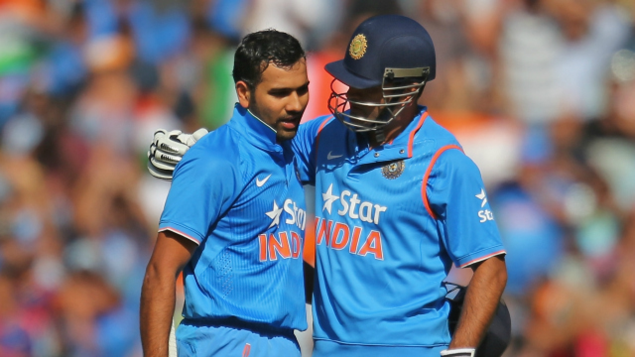 Rohit Sharma opens up