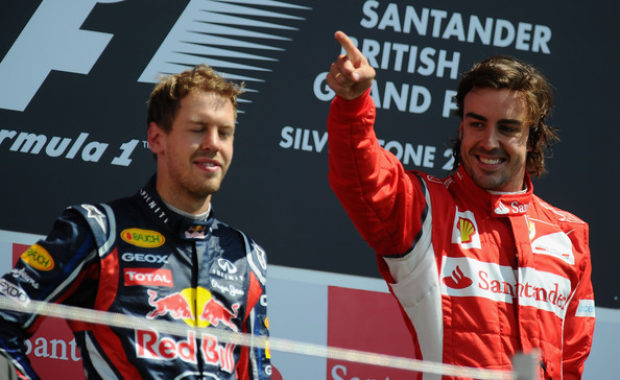 Sebastian Vettel deliver guarded reply to Fernando Alonso over F1 title claims
