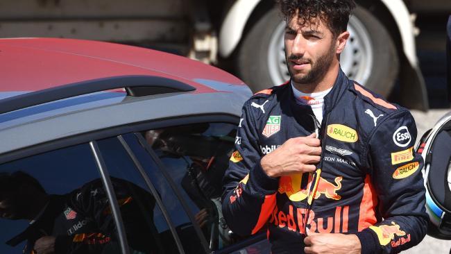 Daniel Ricciardo reveals