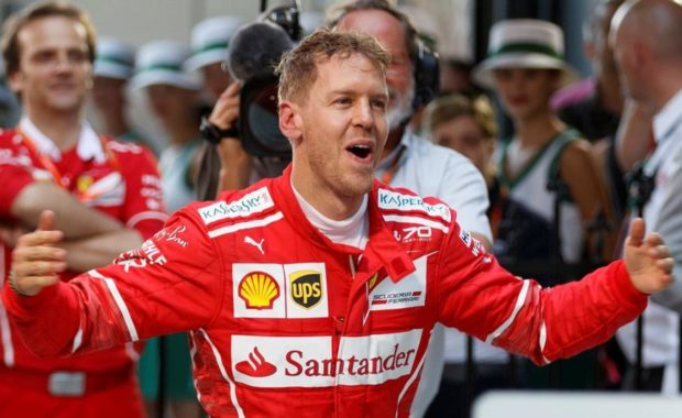 Twitter React As Sebastian Vettel Win Canadian GP and become new F1 Leader